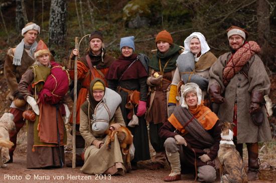 Marraskuu 2013, Repoveden kansallispuisto: suuren suosion saavuttanut reissu komeissa maisemissa, yllättävä ensilumi.